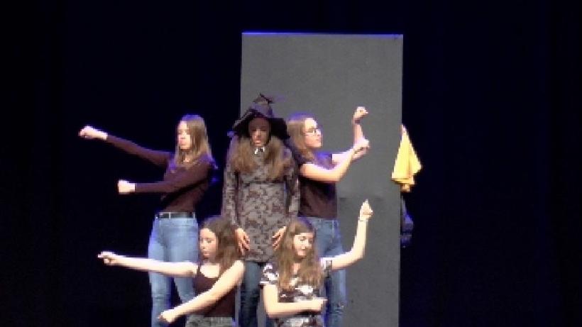 Országos versenyre készül a színjátszó csoport